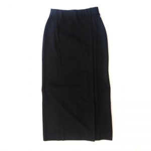 5(FIVE) Punch Long Tight Skirt(BLK)