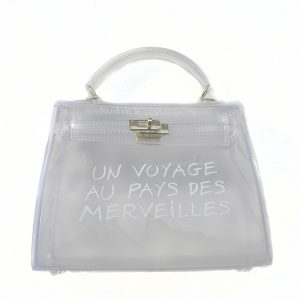 Clear Bag (WHT)