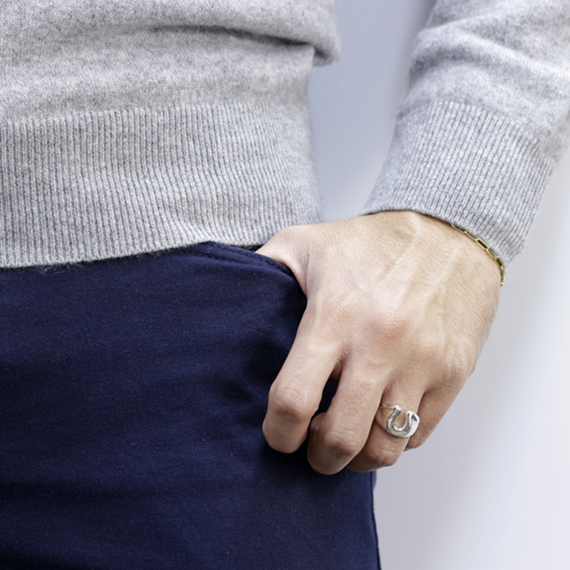 Horseshoe Combination Ring