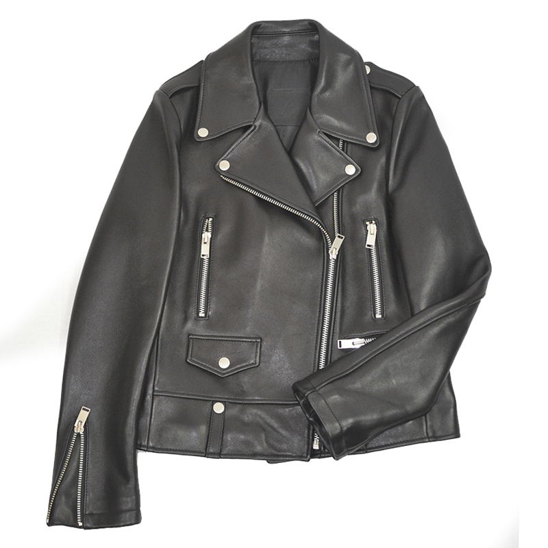 R. LAMB LEATHER RIDERS JACKETy