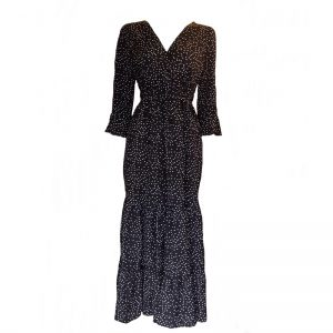 Dot Dress (BLK)