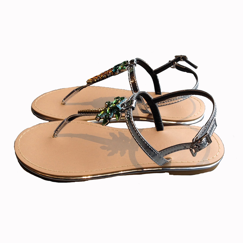 K pineapple sandals(SIL)