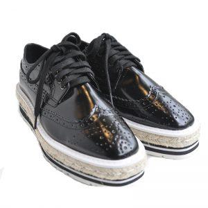 Enamel Sneaker (BLK)