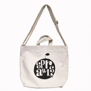 SPRAWLS Tote Bag Apple