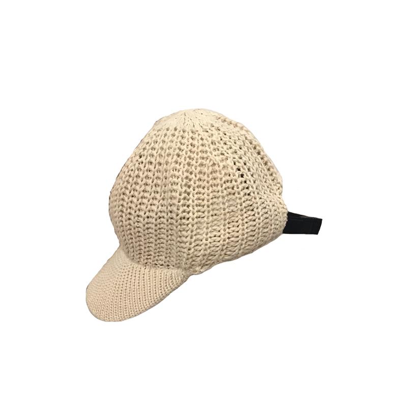 K Soft Knit Cap(CRM)