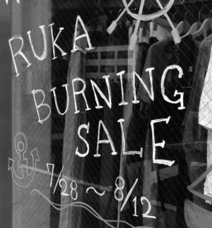 BURNING SALE 2018 SUMMER