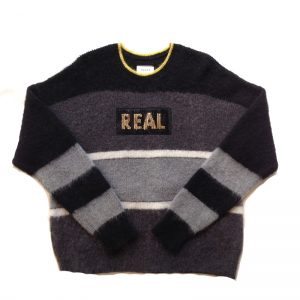 TAAKK(ターク) MOHAIR FAKE⇆REAL KNIT Mono