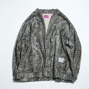 EFFECTEN animal GATHER CARDIGAN  Leopard