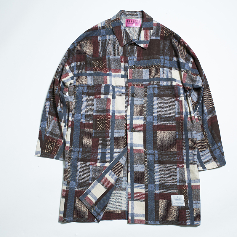 EFFECTEN flannel patchwork over shirts