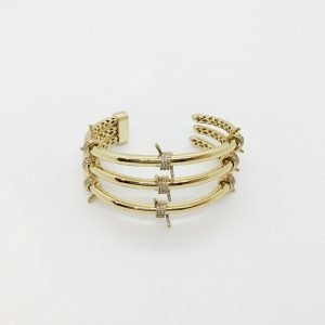 Kenneth Jay Lane 3 Claw bangle