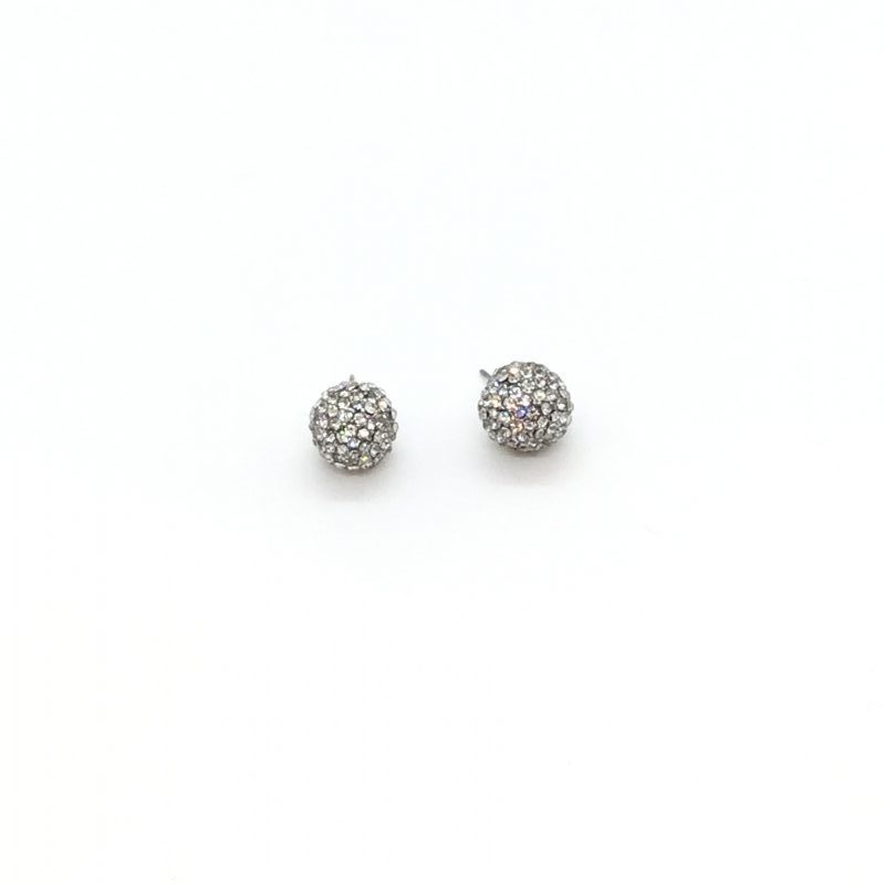 KJL Crystal Ball Stud Earrings