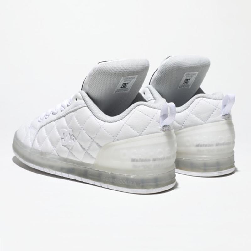 Maison MIHARAYASUHIRO×DC SHOES Collaboration sneaker WHT