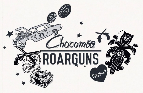 roarguns chocomoo コンセプトビジュアル