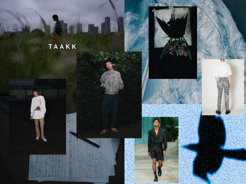 TAAKK 2021SS UNPOSTED のイメージ