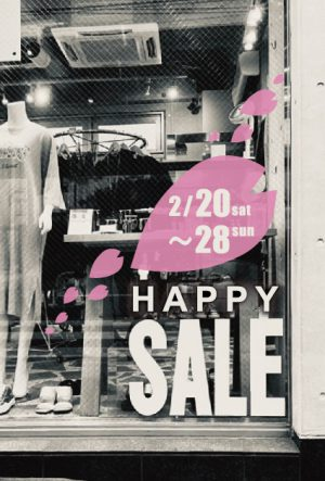 2021 2/20~28  HAPPY SALE